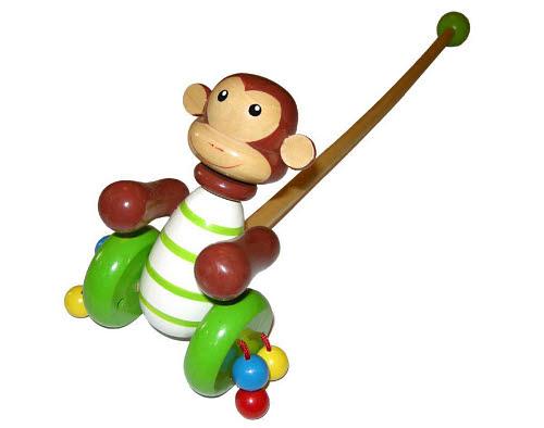 Push-A-Long Monkey - Push-A-Long Monkey