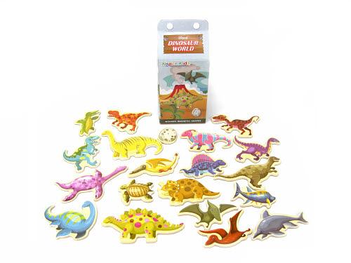 Magnetic Dinosaurs in Milk Carton - Magnetic Dinosaurs in Milk Carton