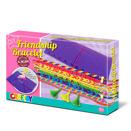 Rainbow Friendship Bracelet Kit - Rainbow Friendship Bracelet Kit
