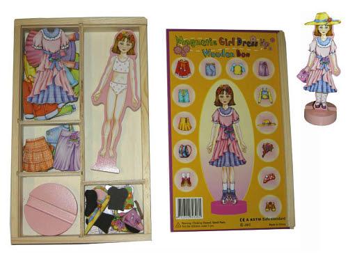 Magnetic Girl Dress Up 36pcs - Magnetic Girl Dress Up 36pcs