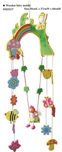 Mobile - Wooden Fairy Set - Mobile - Wooden Fairy Set