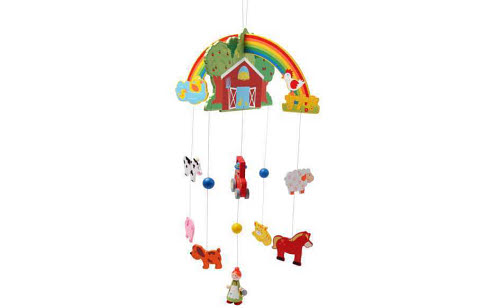 Mobile - Wooden Farm Set - Mobile - Wooden Farm Set