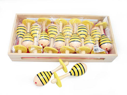 Bee Mini Maracas - Bee Mini Maracas