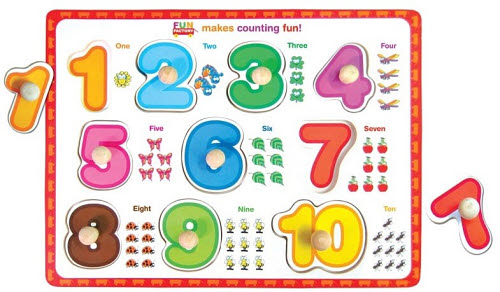 Puzzle Board - Numbers - Number Puzzle Board