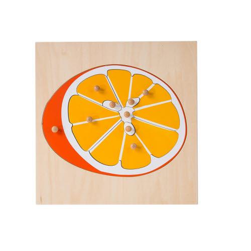 Orange Puzzle - Timber - Orange Puzzle - Timber