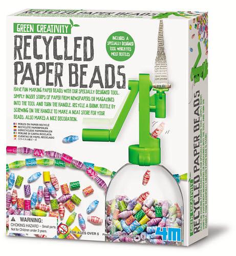 4M - Recycled Paper Beads - 4M - Recycled Paper Beads