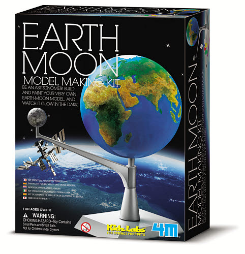4M - Earth & Moon Model - 4M - Earth & Moon Model