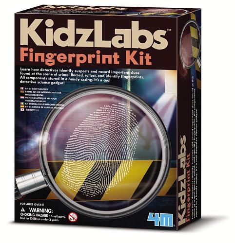 4M - Detective Fingerprint Kit - 4M - Detective Fingerprint Kit