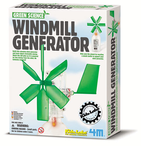 4M - Green Science Windmill Generator - 4M - Green Science Windmill Generator