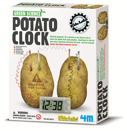 4M - Potato Clock - 4M - Potato Clock