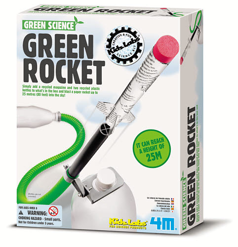 4M - Green Science Rocket - 4M - Green Science Rocket