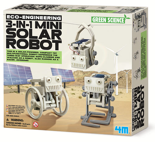 4M 3 in 1 Mini Solar Robot - 4M 3 in 1 Mini Solar Robot