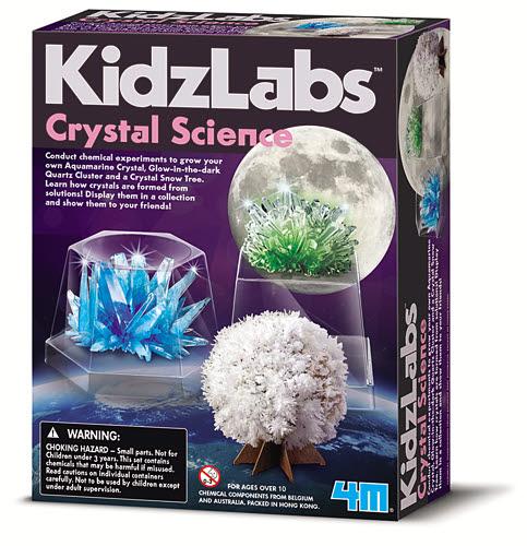 4M Kidzlab Crystal Science - 4M Kidzlab Crystal Science