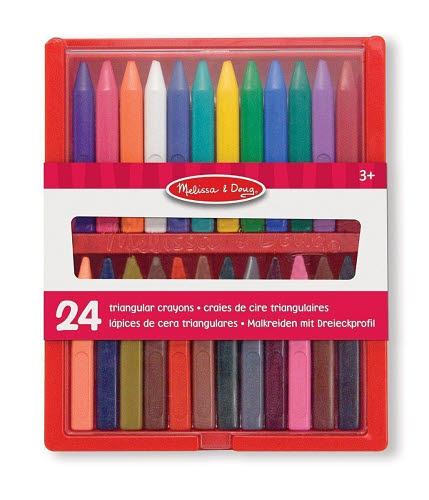 Crayon Set - 24pc Triangular - Crayon Set - 24pc Triangular