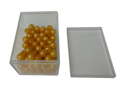 100 Golden Bead Units in Box - Golden Bead Units set of 100, Nylon