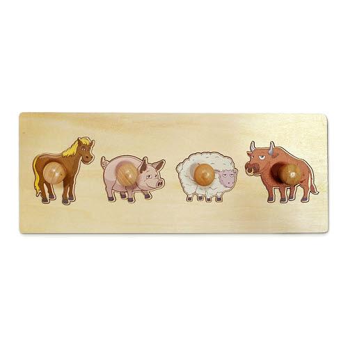 Farm Animals Puzzles - Farm Animals Puzzles