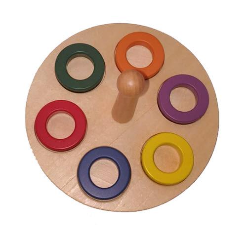 Ring on a Peg Activity - Ring on a Peg Activity