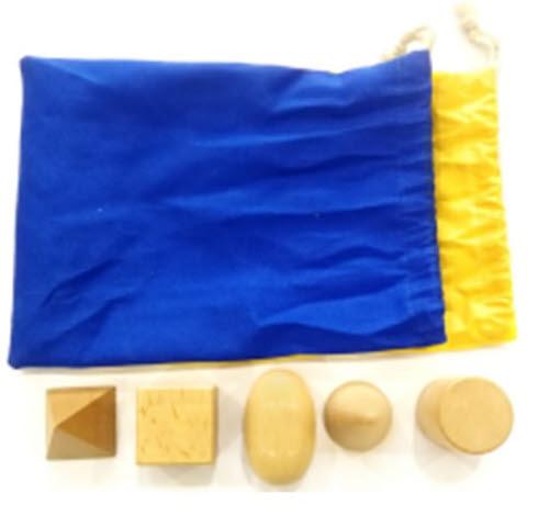 Mystery Bag - Geo Solids - Beech Wood - Mystery Bag - Geo Solids - Beech Wood
