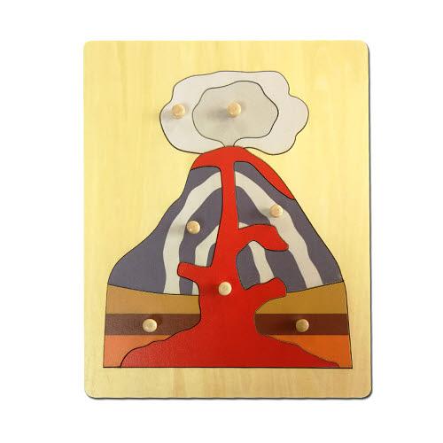 Volcano Puzzle - Timber - Volcano Puzzle - Timber