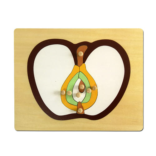Apple Puzzle - Timber - Apple Puzzle - Timber