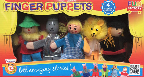 Finger Puppets - Wizard of Oz -