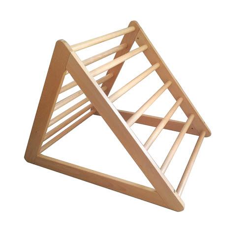 Gross Motor Equipment - F - The Pikler Triangle Ladder in Beech Wood - Gross Motor Equipment - F - The Pikler Triangle Ladder in Beech Wood
