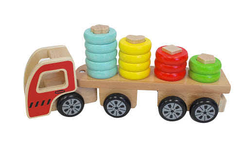 Discoveroo Sort N' Stack Truck - Discoveroo Sort N' Stack Truck