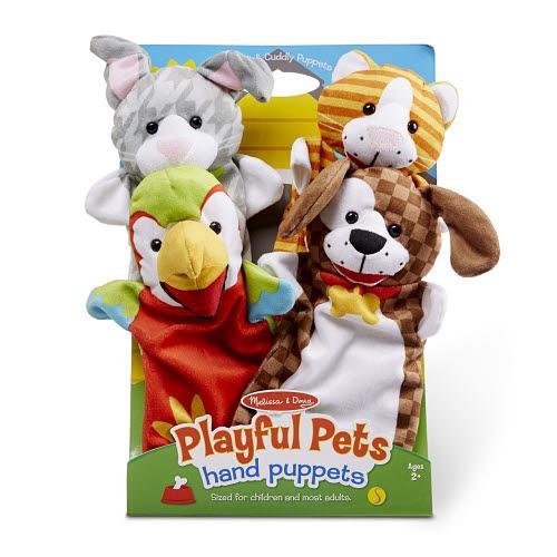 M&D Hand puppets -  Pet Friends - M&D Hand puppets -  Pet Friends