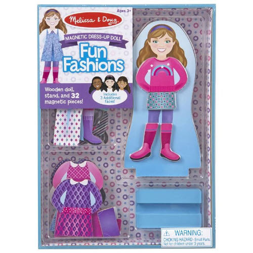 M&D - Fun Fashions Magnetic Dress-Up - M&D - Fun Fashions Magnetic Dress-Up