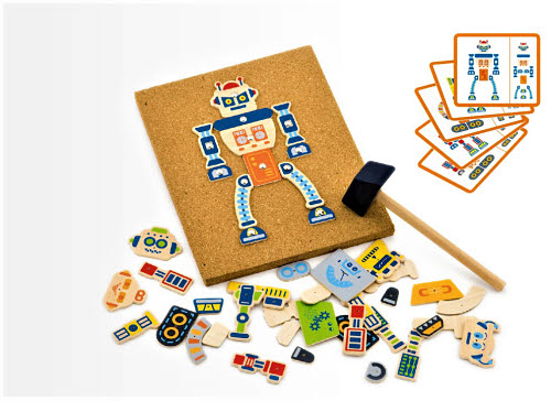 VG - Tap Tap Robots Set - VG - Tap Tap Robots Set