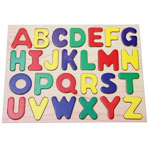 Raised Alphabet Puzzle - Upper Case - Raised Alphabet Puzzle - Upper Case