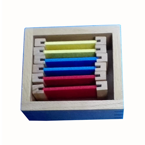 Silk First Box of Colour Tablets - Wooden Holders - Silk First Box of Colour Tablets - Wooden Holders