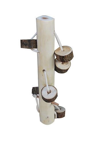 Natural Tree Lacing Blocks - Natural Tree Lacing Blocks