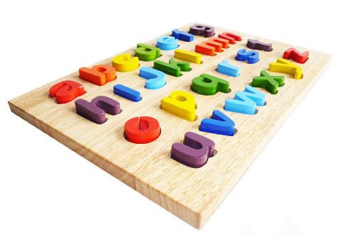 Alphabet Puzzle - Chunky Lower Case - Alphabet Puzzle - Chunky Lower Case