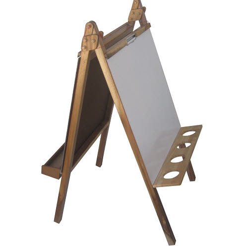 Easel 5 in 1 Activity Centre - Acacia Hardwood - Easel 5 in 1 Activity Centre - Acacia Hardwood