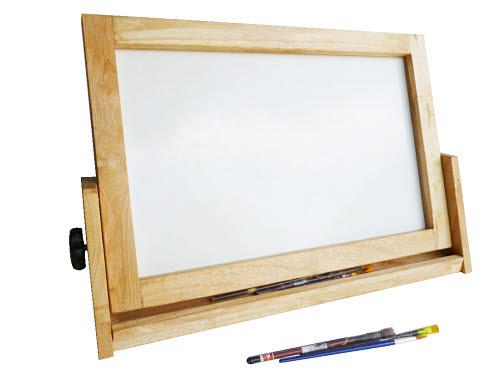 Easel 4 in 1 Table top Activity Board - Acacia Hardwood (Pre-Orders Only) - Easel 4 in 1 Table top Activity Board - Acacia Hardwood