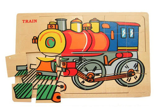 Jigsaw - Train Puzzle - Jigsaw - Train Puzzle