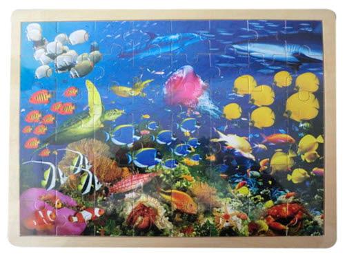 Jigsaw Puzzle  -  Sealife  48pcs - Sealife - Jigsaw Puzzle 48 pcs