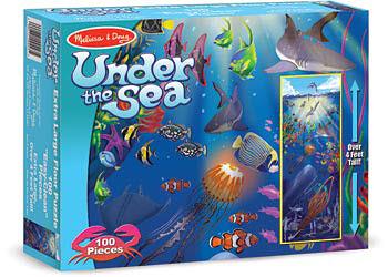 M&D Under the Sea Floor Puzzle - 100pc - M&D - Under the Sea Floor Puzzle - 100pc