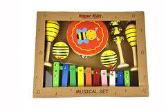 Musical Set 7pc Bee - Musical Set 7pc Bee