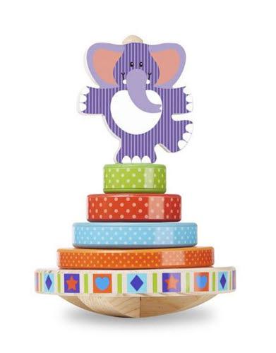 M&D - First Play - Elephant Rocking Stacker - M&D - First Play - Elephant Rocking Stacker