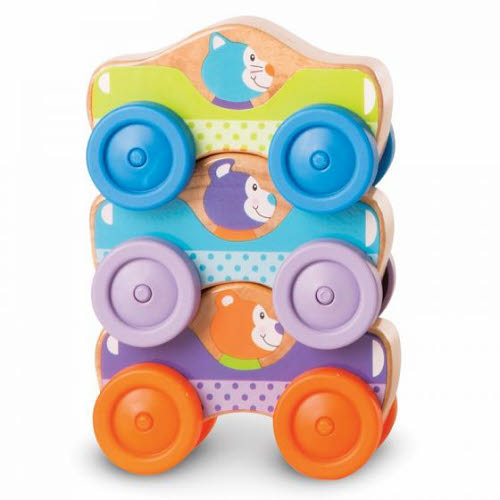M&D - First Play - Animal Stacking Cars - M&D - First Play - Animal Stacking Cars Stacker