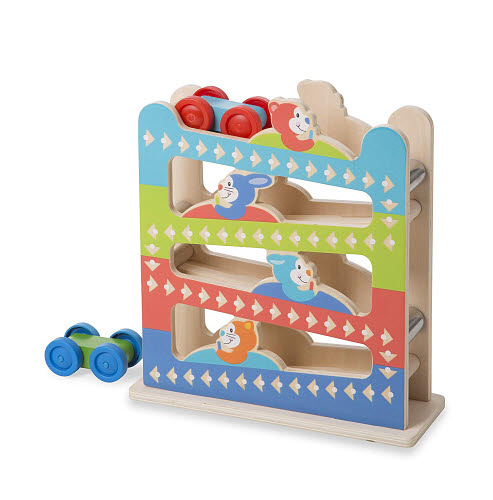 M&D - First Play - Roll & Ring Ramp Tower - M&D - First Play - Roll & Ring Ramp Tower