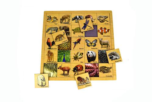 Matching Puzzle Animal Skin - Matching Puzzle Animal Skin