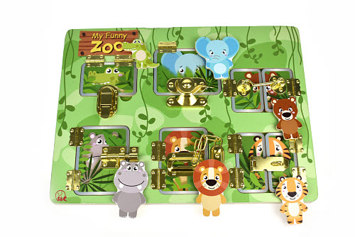Latches Puzzle My Funny Zoo - Latches Puzzle My Funny Zoo