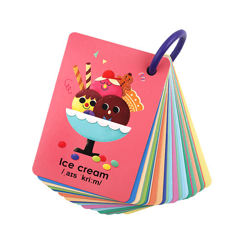 ABC Ring Flash Cards - ABC Ring Flash Cards