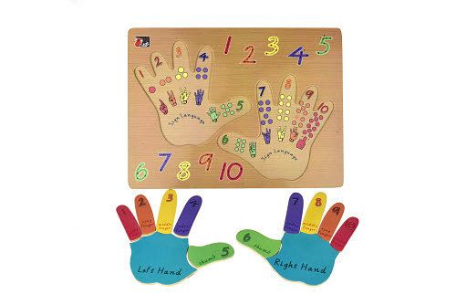Left and Right Hand Puzzle - Left and Right Hand Puzzle