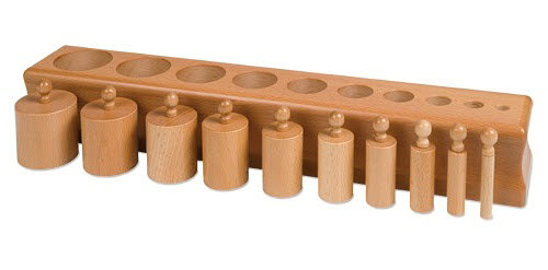 Cylinder Block NO.1 - Montessori Cylinder Block NO.1