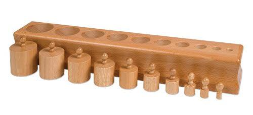 Cylinder Block NO. 2 - Montessori Cylinder Block NO.2