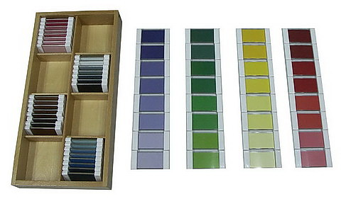 Fourth Box of Colour Tablets - Plastic Holders (32 pairs) - Fourth Box of Colour Tablets - Plastic Holders